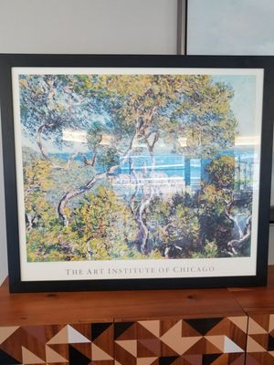 PAINTING: Monet Scenic Print | Professional framing for Sale in Chicago, IL