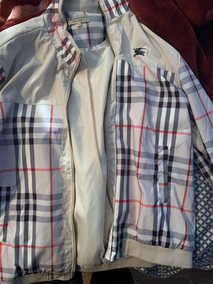 Burberry jacket for Sale in Spanish Flat, CA