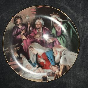 "Norman Rockwell ""gifts to Jesus"" plate for Sale in Port St. Lucie, FL"