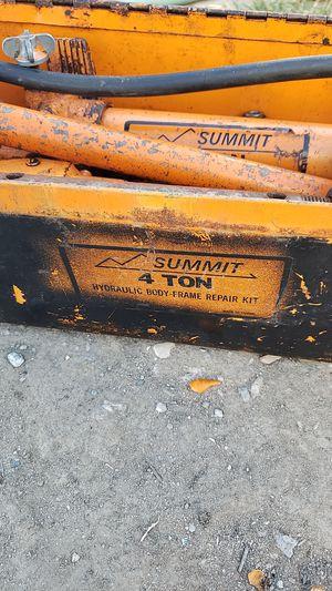 Summit 4 ton hydraulic body frame repair kit for Sale in Lodi, CA