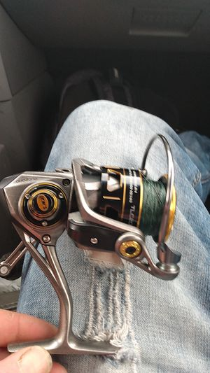 Teamlews custom pro speed spin fishing real for Sale in Everett, WA