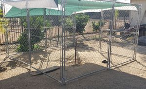 BIG 10' X 10' x 6' DOG KENNEL $345.00 for Sale in Homeland, CA