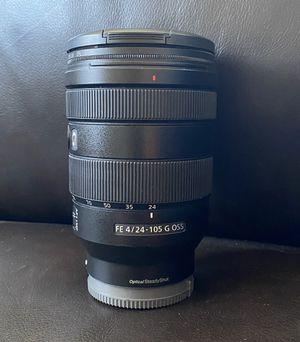 Sony FE 24-105mm full dram lens not Canon Nikon Fuji Pentax Olympus for Sale in Elk Grove, CA