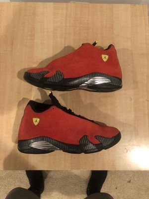 Air Jordan 14 Ferrari Size 12 for Sale in Clifton, VA