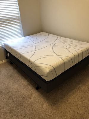 New Mattress, Box Spring, Head Board, and Bed Frame for Sale in Midland, TX
