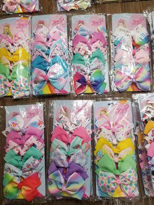Jo jo siwa bows for Sale in Miami, FL