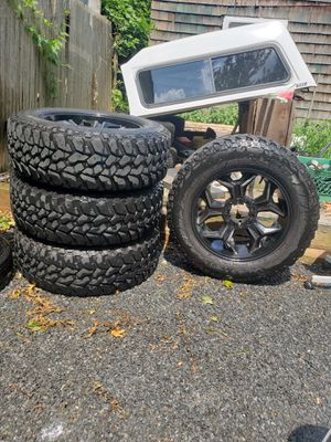 Wheels off of a 2010 Dodge Ram 1500 for Sale in Huntington, NY