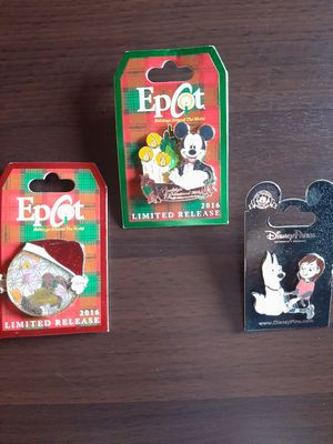 Disney Holiday & Bolt Pins for Sale in Inglewood, CA