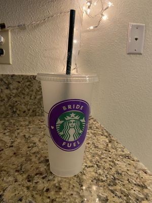Bride Fuel Starbucks reusable cup for Sale in Fresno, CA