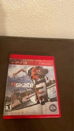 Skate 3 ps3 for Sale in Wesley Chapel, FL
