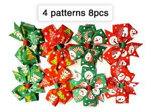 8PCS 4 Pattern Christmas Ribbon Hair Clip-Snowman for Sale in Norfolk, VA