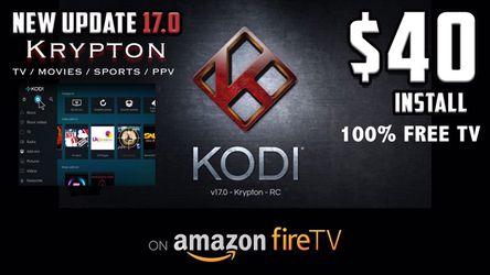 KODI REPAIRS & UPGRADES   Amazon Firestick for Sale in Winchester,  CA