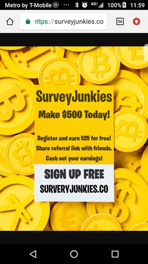 $$SurveyJunkies$$ for Sale in Suitland, MD