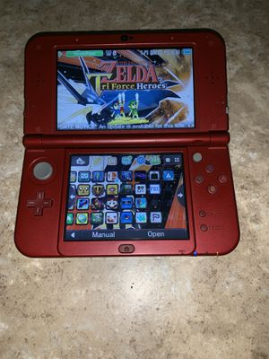 """""""New"""" Nintendo 3DS XL With Games and Charging Cable for Sale in San Bernardino, CA"""