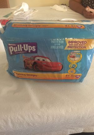 Huggies pull ups 4 T/ . 5 T for Sale in Fort Lauderdale, FL
