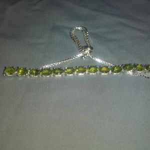 Peridot set in .925 for Sale in West Columbia, SC