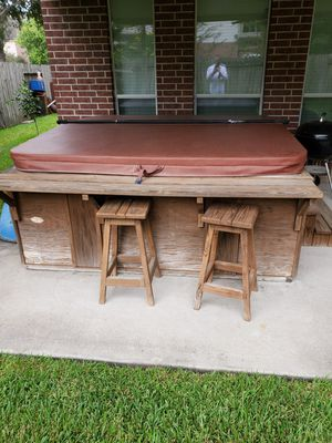 Hot tub for sale one pump is not working for Sale in League City, TX