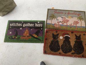 Christmas/Halloween Doormats for Sale in Sanford, FL