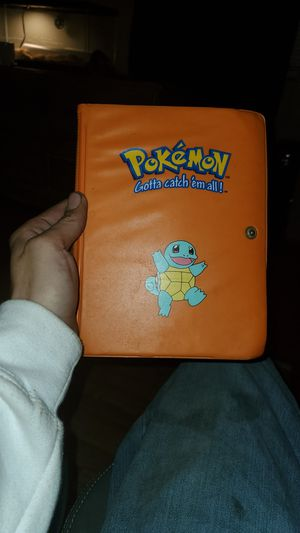 Pokemon card collection offer me binder is oldschool for Sale in Campobello, SC