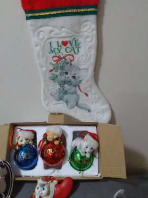 Cat Ornaments 1 for Sale in Evansville, IN