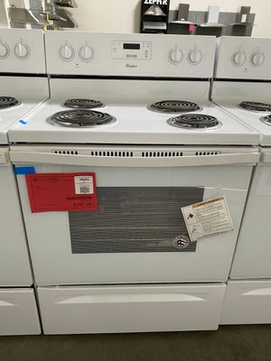 New Whirlpool Electric Range 1yr Manufacturers Warranty for Sale in Gilbert, AZ