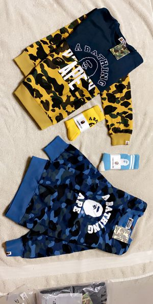 BAPE A BATHING APE 🦧 🦍🐒🐵🐵🦧🦍🐵🦧 for Sale in San Diego, CA