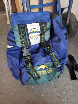 Mountain gear backpack for Sale in Lake Elsinore, CA
