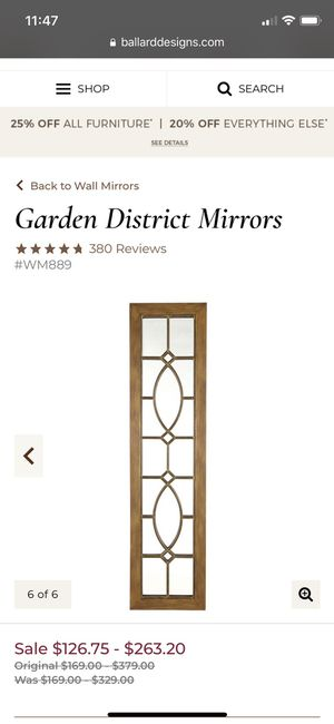 Wall mirror for Sale in North Olmsted, OH