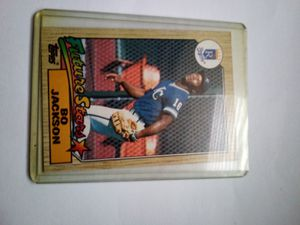 Topps Bo Jackson Rookie #170 1986 baseball card for Sale in Charleston, SC
