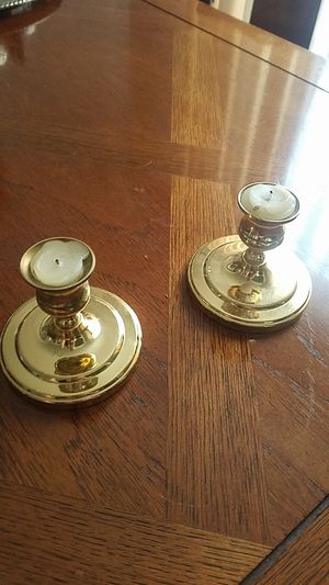Gold Candle Holder for Sale in Lansdowne, VA