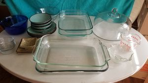 Various Pyrex and Anchor glass dishes for Sale in Marietta, GA