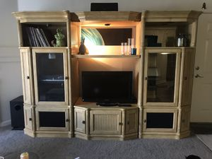 7 piece Media Center / Wall Entertainment Center for Sale in Denver, CO