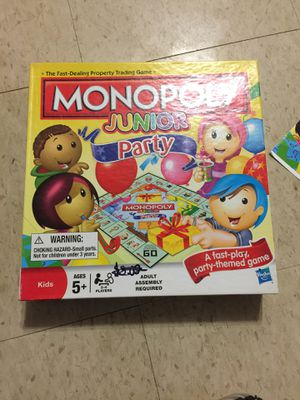 Monopoly Junior for Sale in Takoma Park, MD