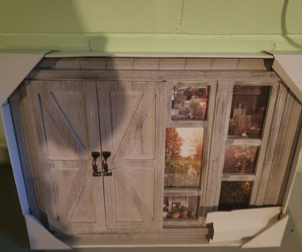 Farmhouse Sliding picture frame