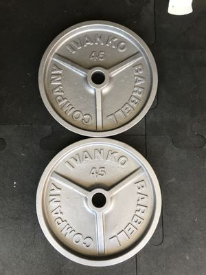 Ivanko Olympic weights (2x45s) for $80 Firm!!! for Sale in Burbank, CA