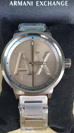 New Authentic Men's Armani Exchange Big Face Watch ⌚⌚⌚ for Sale in Montebello, CA