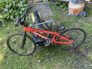 18in felt race bike for Sale in Moorestown, NJ