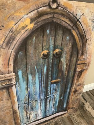 "ELEGANT ANTIQUE DOOR ARTWORK - 36"" x 28"" for Sale in Henderson, NV"