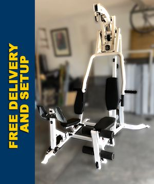 Hoist Home Gym w/leg press Excellent condition (Free Delivery & setup) for Sale in Phoenix, AZ