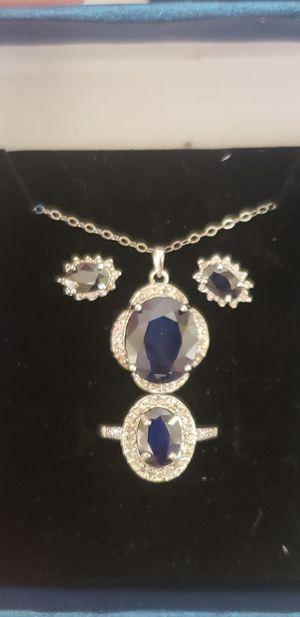 10 k sapphire and diamond set for Sale in San Jose, CA