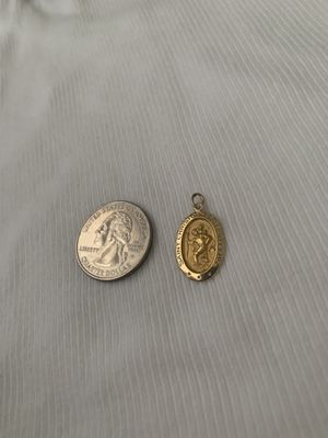 14k Gold St. Christopher Medallion for Sale in Fremont, CA