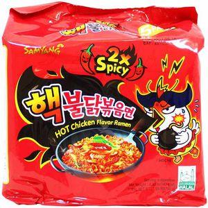 SAMYANG Korean Fire Challenge Buldak Noodle 2X Hot Spicy Chicken Flavor Ramen for Sale in Arlington, VA
