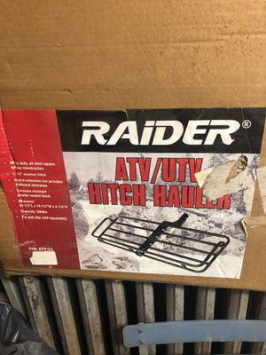 Raider Hitch Hauler. ATV /UTV for Sale in New York, NY