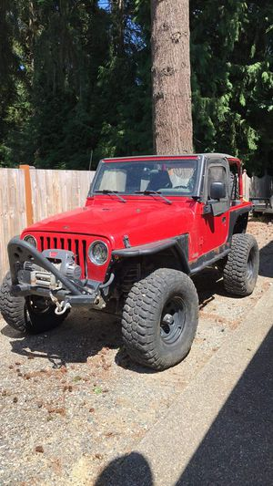 2003 Jeep tj for Sale in Puyallup, WA