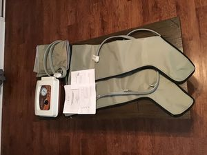 Neomedic PowerPress Sequential Lymphedema Pump, Pneumatic Circulation Therapy:Large size, Both legs, plus Abdominal wrap for Sale in Mayfield, KY