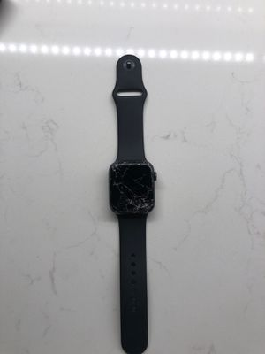Apple Watch Series 4 44mm cracked screen for Sale in New York, NY