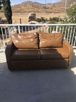Couch with pull out bed for Sale in Winchester, CA
