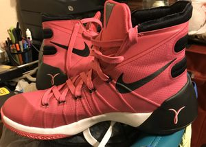 Men's Nike Hyperdunk Shoes (No Box) / Size: 9 / Worn Once - Like New / Pick- up in Cedar Hill / Shipping Available for Sale in Cedar Hill, TX