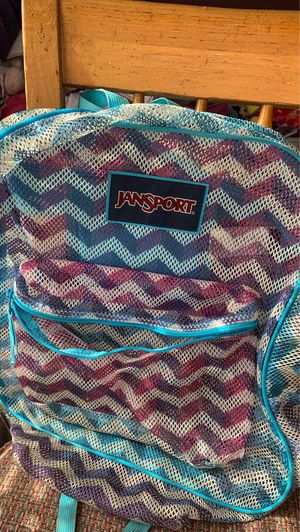Jansport Mesh Backpack for Sale in Jacksonville, FL