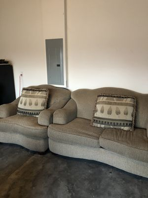 Matching couches Living room set for Sale in Orlando, FL